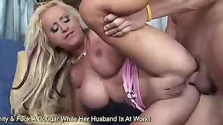 Savanah Gold Puts A Stiff Cock In Her Tight Asshole