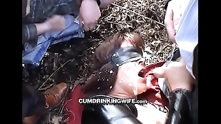 CumDrinkingWife - At Public Park 1 - Continue To Wait for At CuckoldPlayGround.com