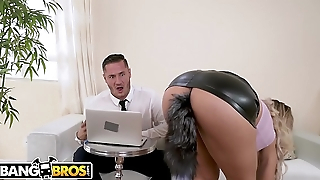 BANGBROS - Latin MILF Secretary Assh Lee Gets Her Asshole Stretched By Her Boss