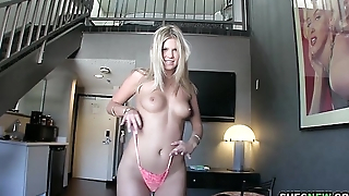 ShesNew - Scarlet Peppery Fucks On Camera For The First Time!